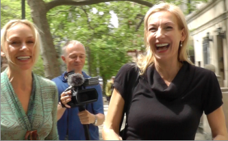 Marianne Hettinger Ute Lemper on Hallo New York