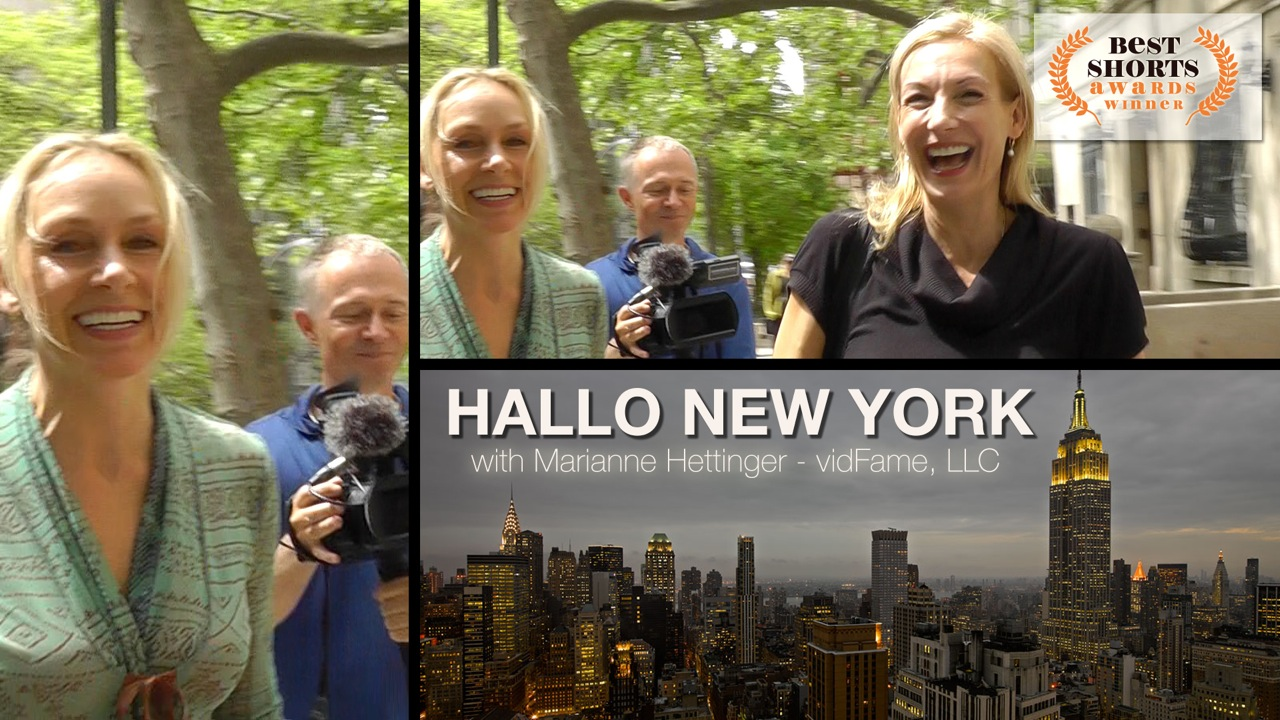 Marianne Hettinger interviews Ute Lemper on Hallo New York