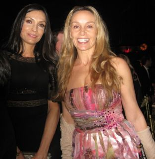Marianne Hettinger with Famke Janssen