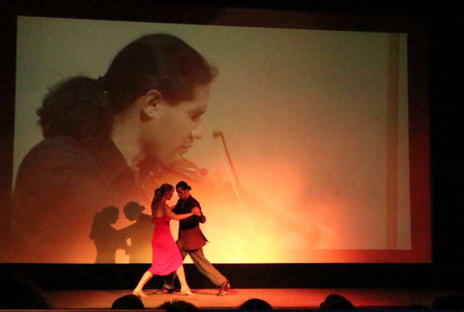 Marianne Hettinger dances live tango at her screening 2012