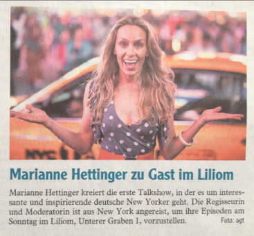 Marianne Hettinger Hallo New York